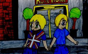 Hetalia: England and America's Date by matisse77