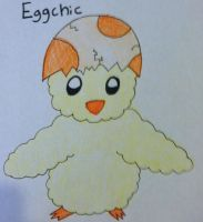 Fakemon: Eggchic by Brawl483