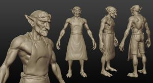 Fisk Sculpt by streedes