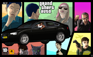 GTA Commission by DikkeBobby
