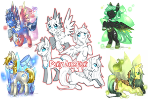 Pony Auction Collab by Mousu