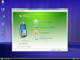 Windows Mobile Applet For XP by Picassa243