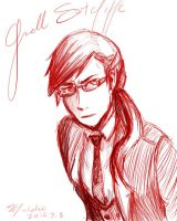 Male!Grell Sutcliff by whitewestie13
