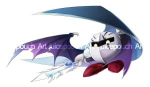 Dark Metaknight Commission by J00se