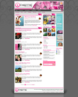 OneTheme Default - Pink by STRIF3wind