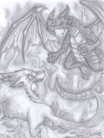 Divine beasts Battle by CPoring