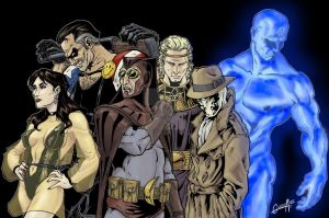 Comic zone: Watchmen by mistermoster