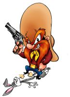 Yosemite Sam by Dreekzilla