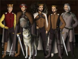 The War of The Five Kings. by BlackRoseOfSummer