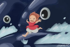 Ponyo Screenshot by shaina773