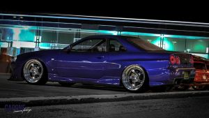 Bagged 34GTR - Miami Feelings by CaponeDesign