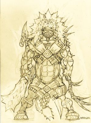 Heracles redisign (filtered pencil)