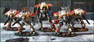 imperial knights full army by Granamir by Granamir