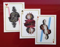 Star Wars Playing cards by Maria18Borodina