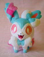 Pokemon: Petit Shiny Sylveon by sugarstitch