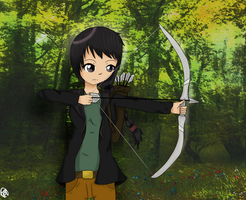 Bow and Arrow by Rin-luver