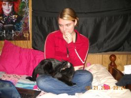 Me and My Friend's Cat 2011 by Kpopgirl4ever