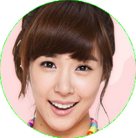 Tiffany SNSD [Circle PNG] by PowerBerry10