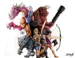 The Young Warriors by BMarshallARTS
