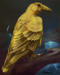 Golden Crow by Grimae