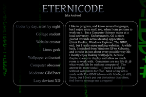 Eternicode ID 1 by eternicode