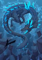 Abyssal Lagiacrus by Maricu-Mana