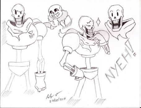 THE GREAT PAPYRUS! by Mega-Charizar