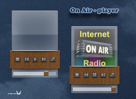 On Air - Player - for XWidget. by tchiro