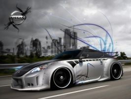 Nissan 350z by askine