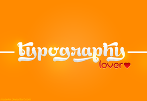 Typography Lover by mazeko