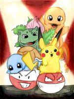 Classic Pokemon at their BEST! by GG-lover