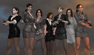 Resident Evil Business Woman Finalize by bstylez