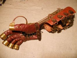 Steampunk glove by ChanceZero