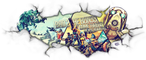 Borderlands 2 game banner V3 by FYPO