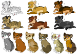Saber adopts: ALL SOLD by KaiserTiger