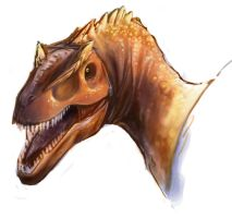 Carnivorous Theropod by ObsidianHyena