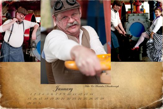 Manly Mustaches January by garybwatts