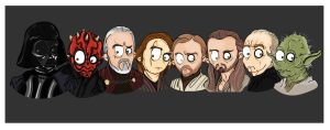 MsGothje meets Star Wars 2 by MsGothje