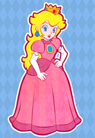 Princess Peach by twillis