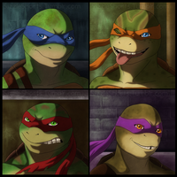TMNT - Out of the Shadows by WyldeElyn