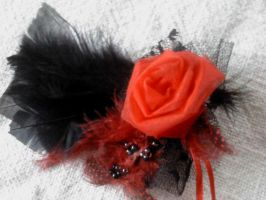 Brooch flower lace by Mirtus63