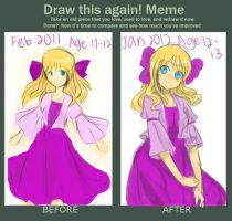 Before and After meme by Luriona