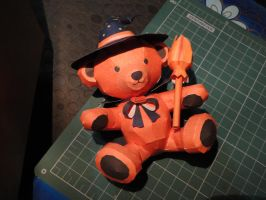 Halloween Teddy Bear Papercraft by bslirabsl