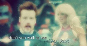 "Sheamus-Maryse Graphic ""Run"" by verusImmortalis"