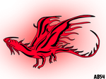 Mordecai: rare red flightmare by Angrybird54