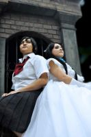 Cosplay (BLOOD+): Two Queens by AngelicCosplay