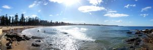 Manly Beach by hamsher