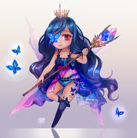 Butterfly Queen Chibi by Seojinni