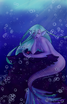 Mermaid? [Contest Entry] by WeeabooFantasy