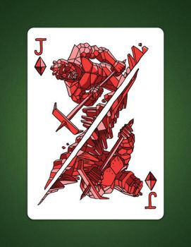 Jack Of Diamonds Jack of Earth by LineDetail